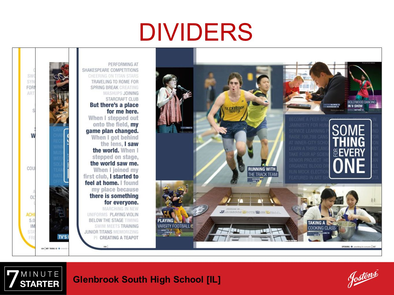 DIVIDERS Glenbrook South High School [IL]